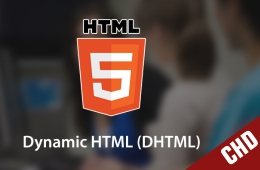 Certificate in HTML & DHTML