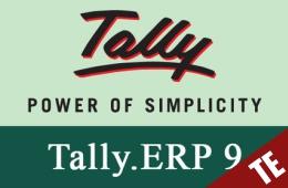 Tally Erp 9.0